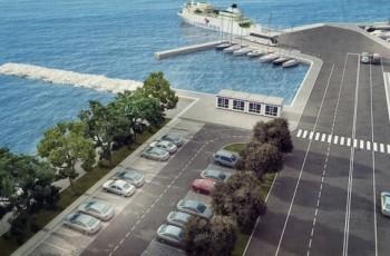 Nastavak izgradnje trajektne luke Tkon - otok Pašman