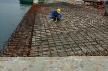 Radovi na izgradnji trajektne luke Tkon, faza I. i faza II. privode se kraju