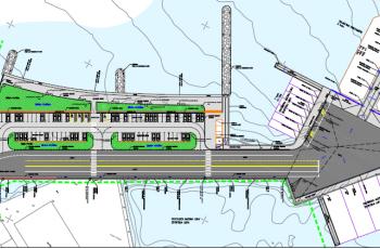 Pri kraju izgradnja jugoistočnog gata trajektne luke Tkon