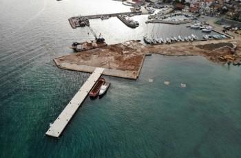Nastavak radova na izgradnji luke Tkon