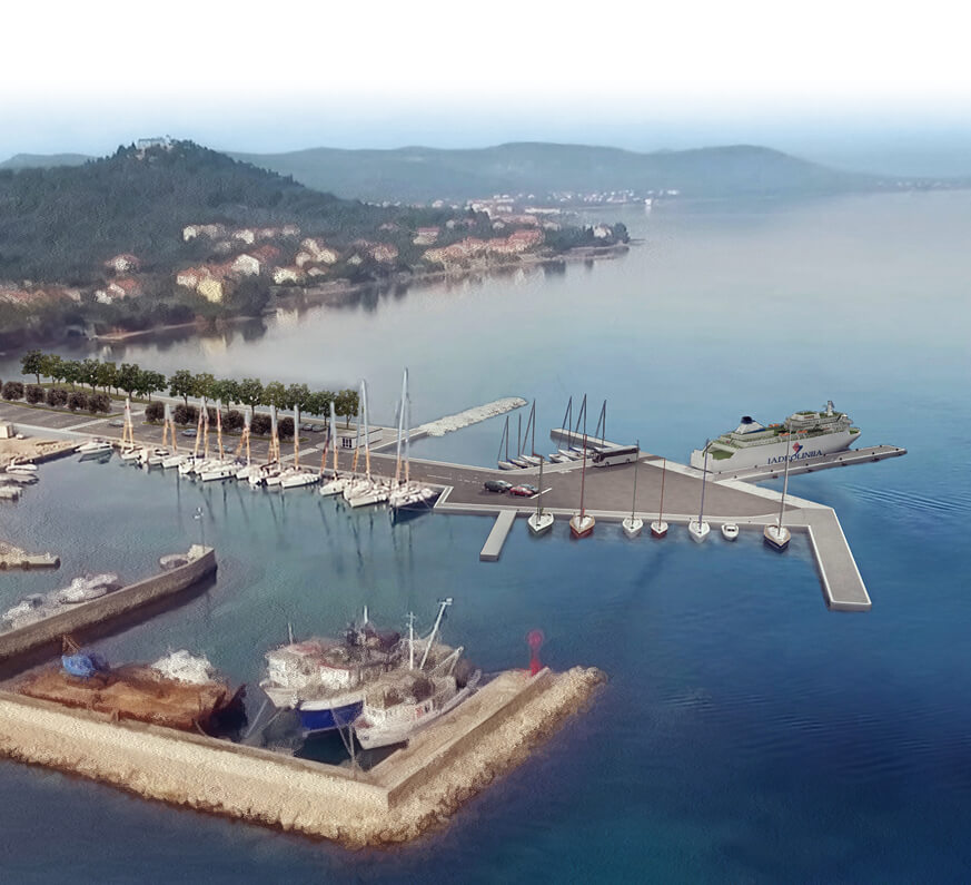 Trajektna luka Tkon